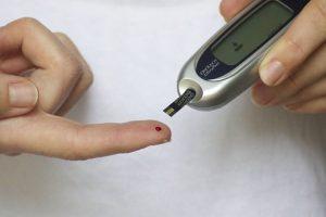 Bloedsuikerwaarden prikken