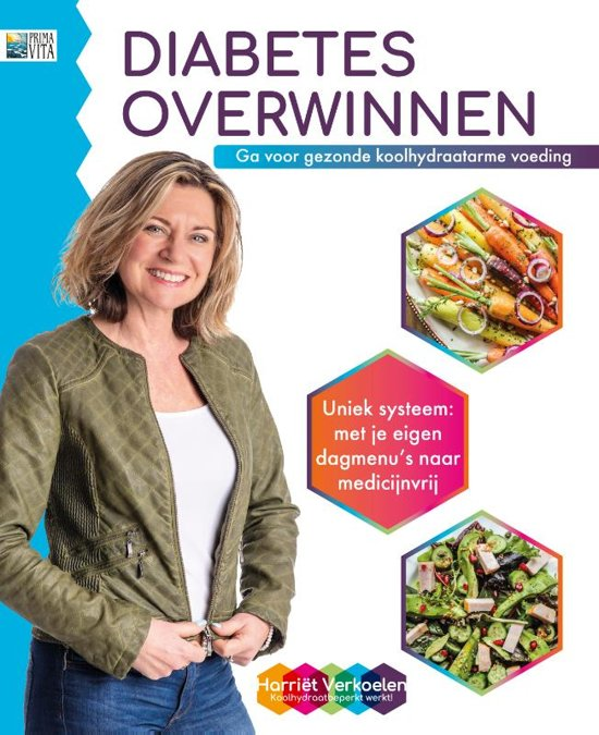 Diabetes overwinnen boek harriet