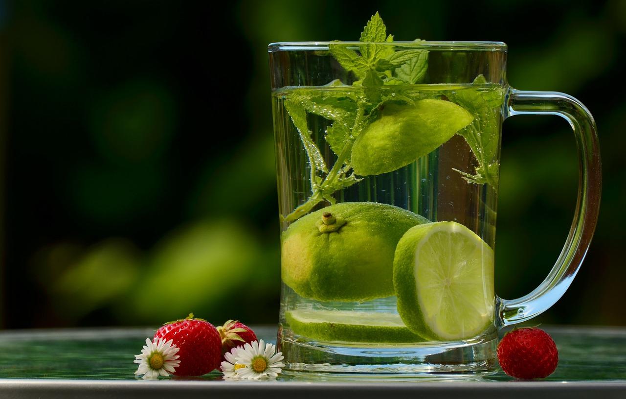 Water met een smaakje