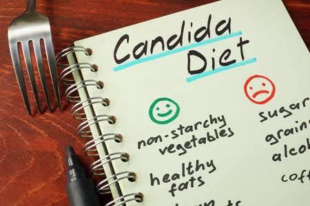 wat is candida dieet menu