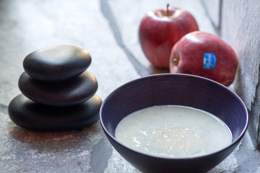 natuurlijke huidverzorgingsproducten maken van appels