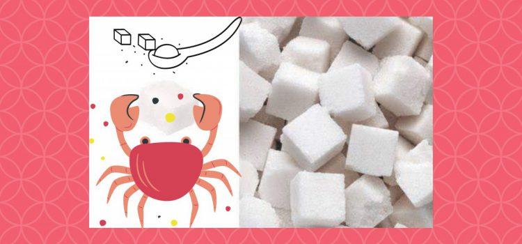 invloed van suiker op kanker